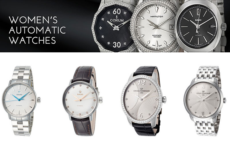 Up to 75% Off  on Women's Automatic Watches