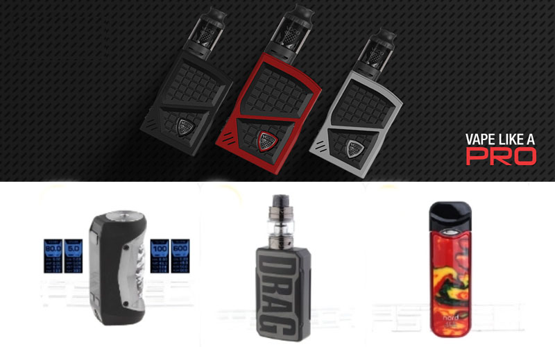 Up to 20% Off on E-Cigarettes Products
