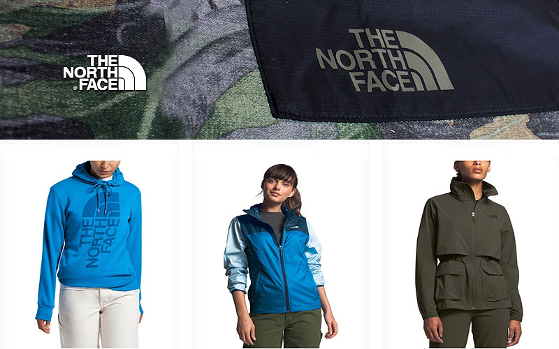 Shop Online North Face Tops at Lowest Price