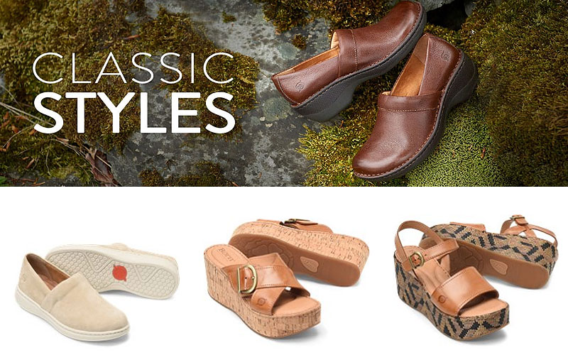 Shop Women's Classic Styles Footwear at Discount Prices