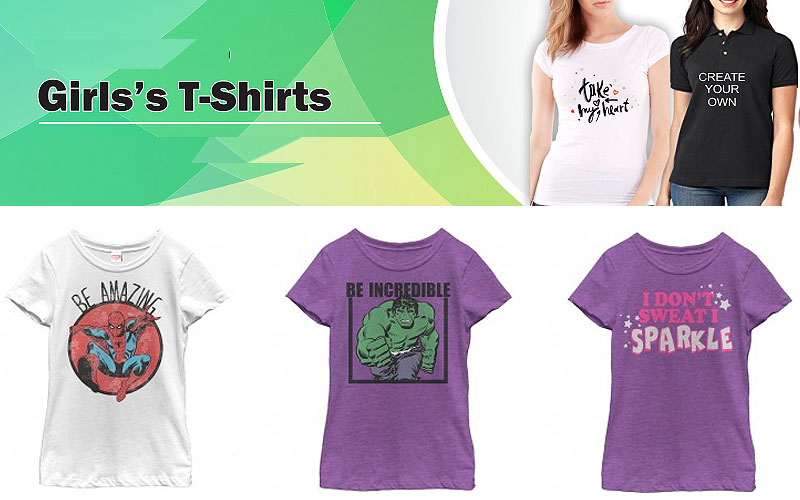 Shop Online Printed Tees for Girls as Low as $21.99