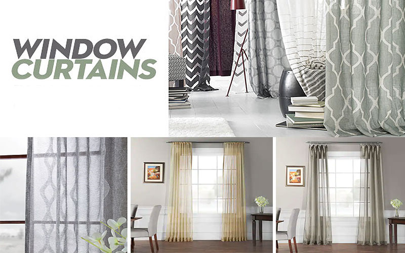 Stylish Curtains Starting from $15.99 Only