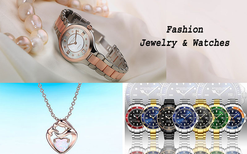 Up to 80% Off on Fashion Jewelry & Watches