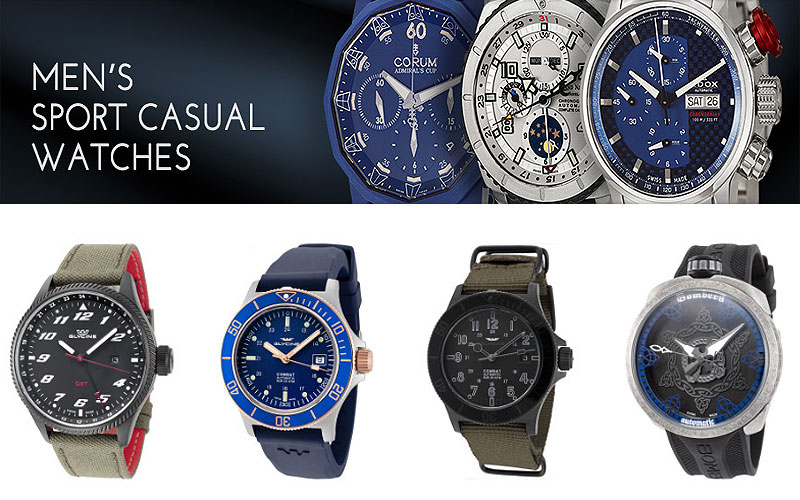 Up to 90% Off on Designer Sports Casual Watches