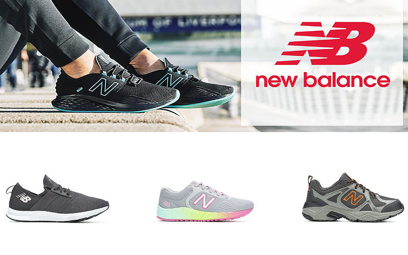 Up to 45% Off on Latest New Balance Shoes