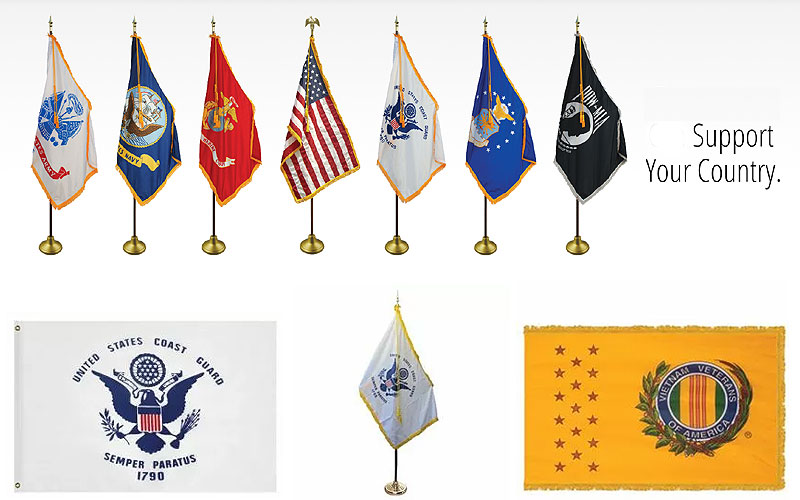 Shop High Quality Military Flags at Discount Prices