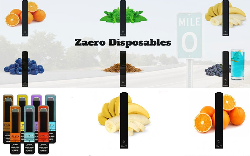 Up to 20% Off on Zaero Disposable Vapes