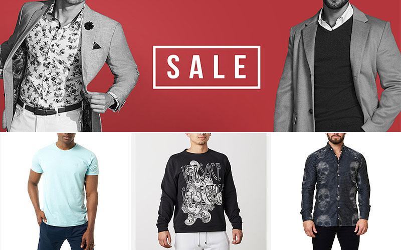 Up to 70% Off on Men's Tops, Shirts & T-Shirts