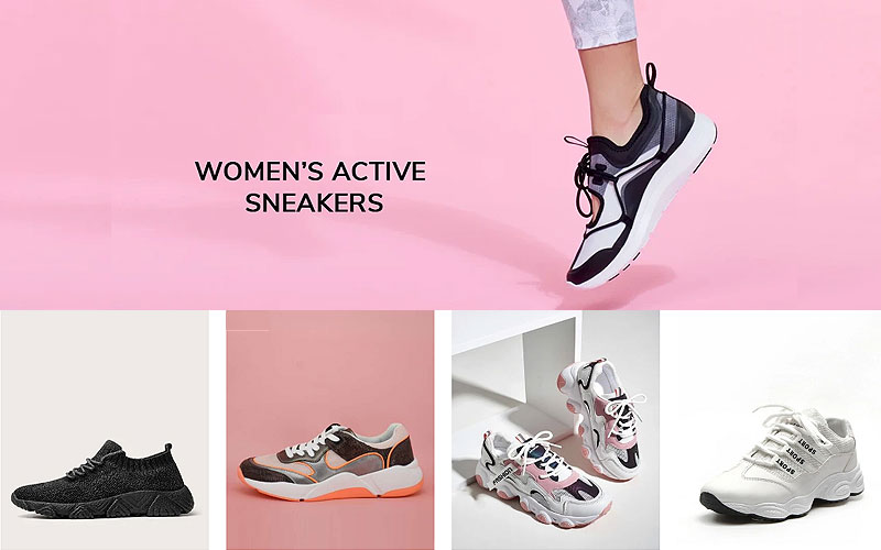 Footwear Sale: Up to 60% Off on Women's Sneakers & Athletic Shoes