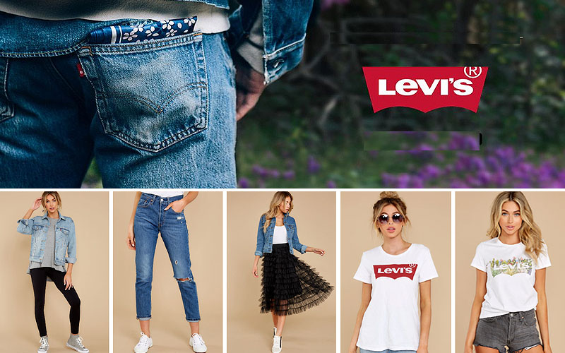Levi's Women's Clothing Online on Sale Prices