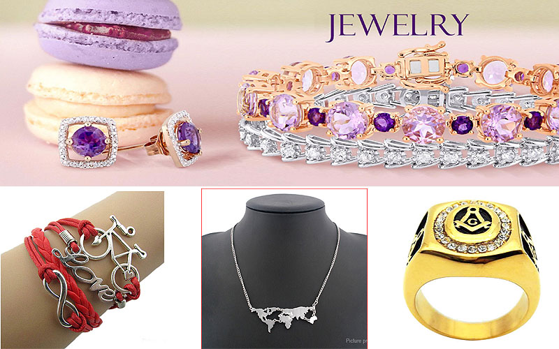 Attractive Women's Fashion Jewelry at Discount Prices