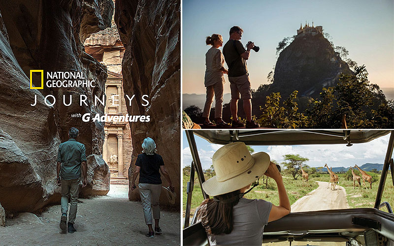 National Geographic Journeys 2020 with G Adventures
