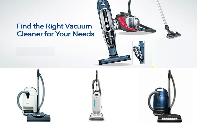 Up to 35% Off on Quality Vacuum Cleaners