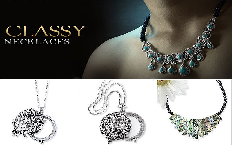 Shop Elegant Necklaces Online on Sale Prices