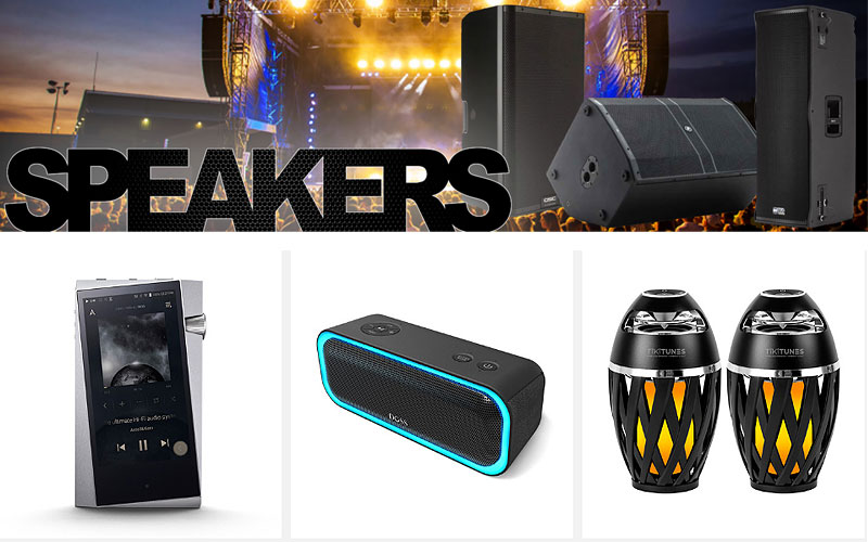 Up to 45% Off on Speakers & Components