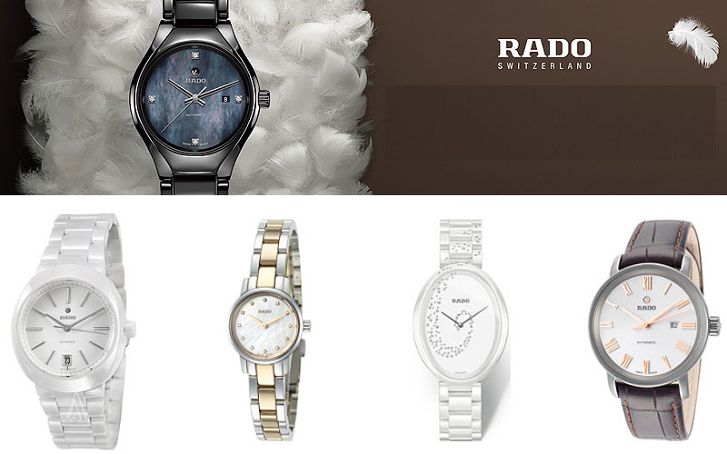 Up to 80% Off on Rado Watches for Women