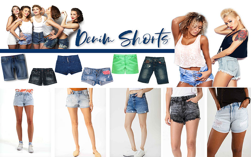 Shop Women's Denim Shorts on Sale Prices