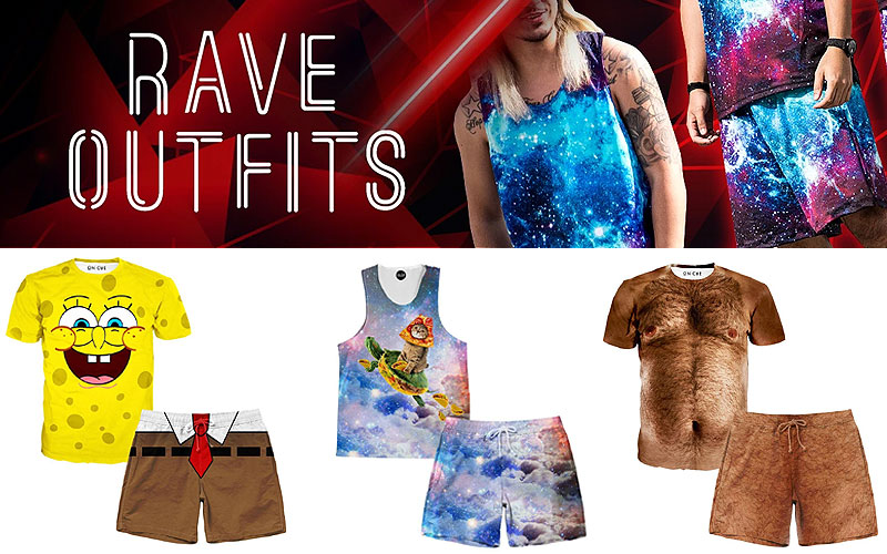 Shop Online Rave Clothing for Men at Discount prices