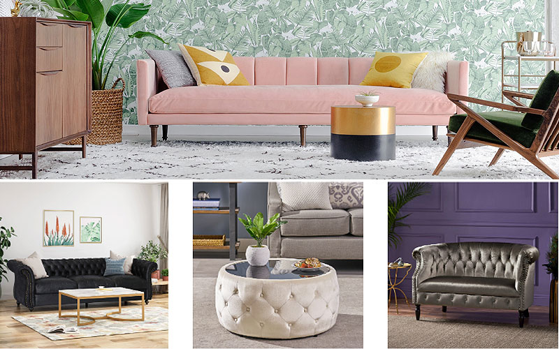 Up to 30% Off on Glam Style Furniture