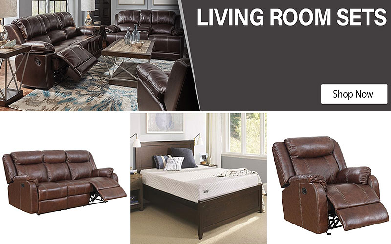 Up to 40% Off on Living Room Furniture Sets