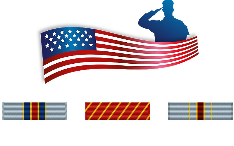 US Military Ribbons on Sale Prices