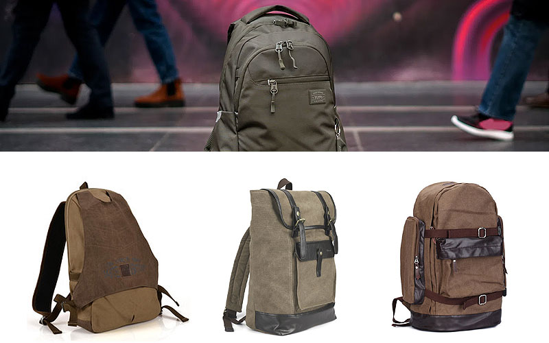 Up to 30% Off on Stylish Canvas Backpacks