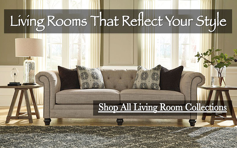 15% Off on Ashley Living Room Furniture