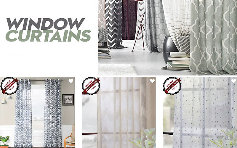 Up to 60% Off on Home Decor Curtains