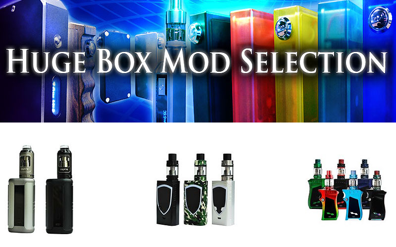 Up to 20% Off on Vape Box Mod Kits on Sale
