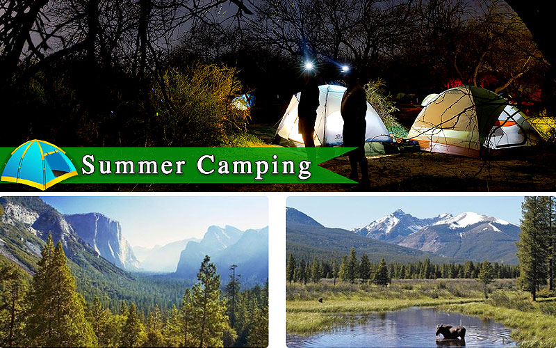 Up to 65% Off on Family Camping Trips