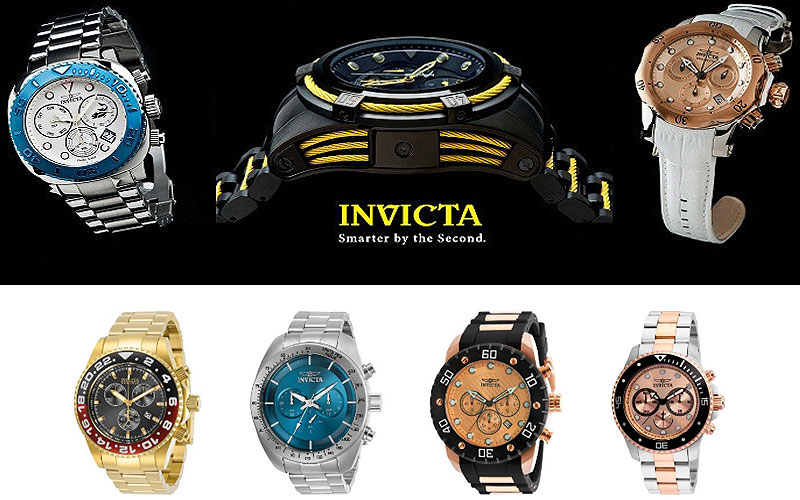 Up to 95% Off on Men's Invicta Watches
