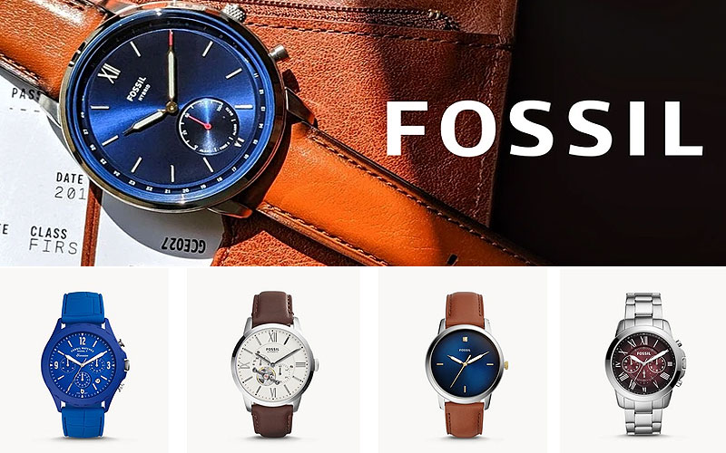 Up to 60% Off on Fossil Watches for Men