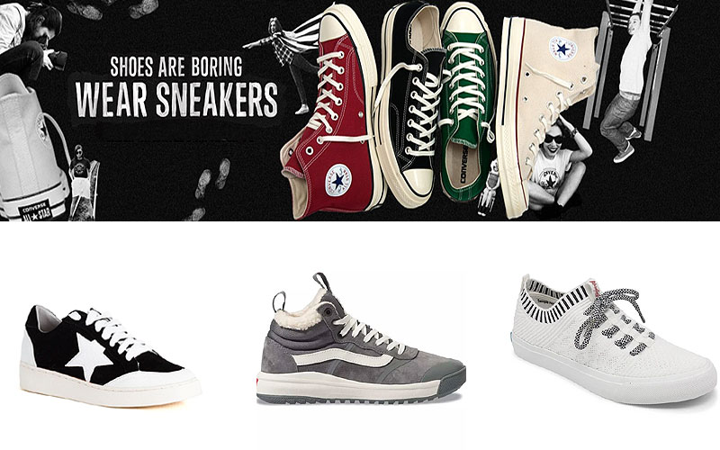 Labor Day Sale! Up to 60% Off on Designer Sneakers