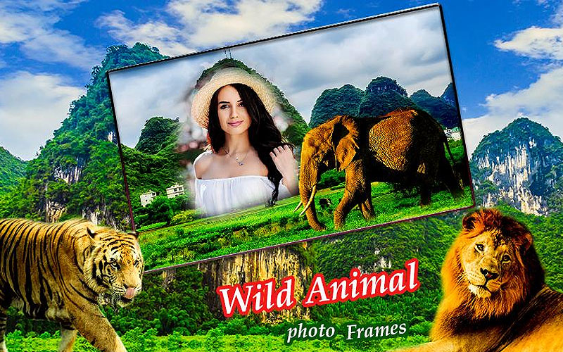 Shop Wildlife Photo Frames Online on Sale Prices