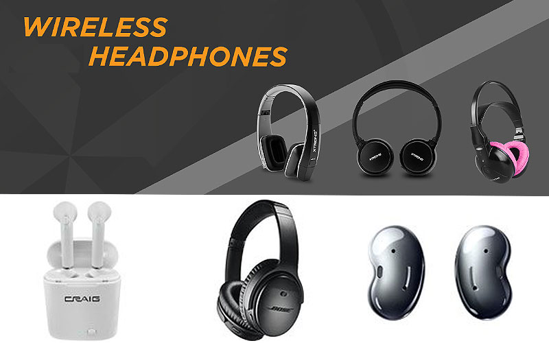 Up to 60% Off on Wireless Bluetooth Headphones
