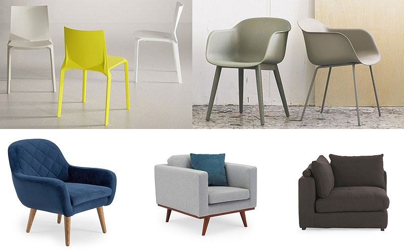 Up to 65% Off on Indoor Modern Chairs