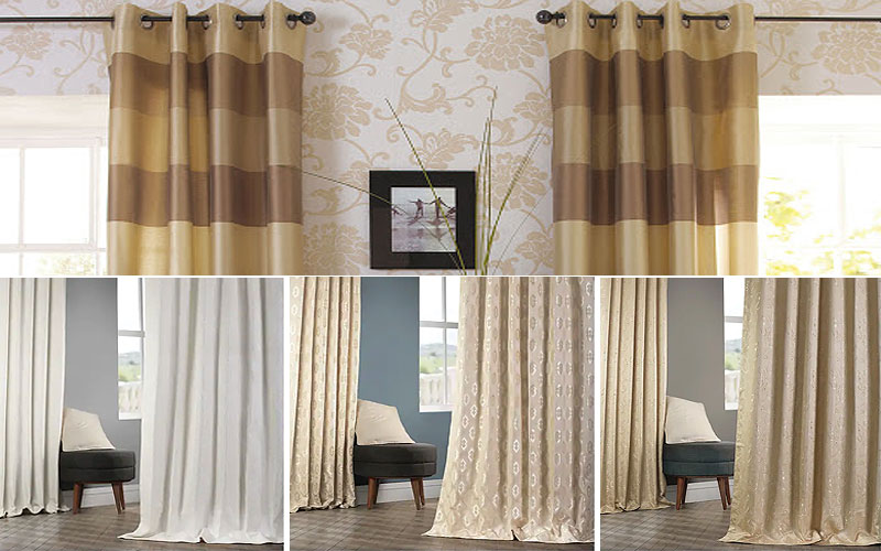 50% Off on Designer Jacquard Curtains