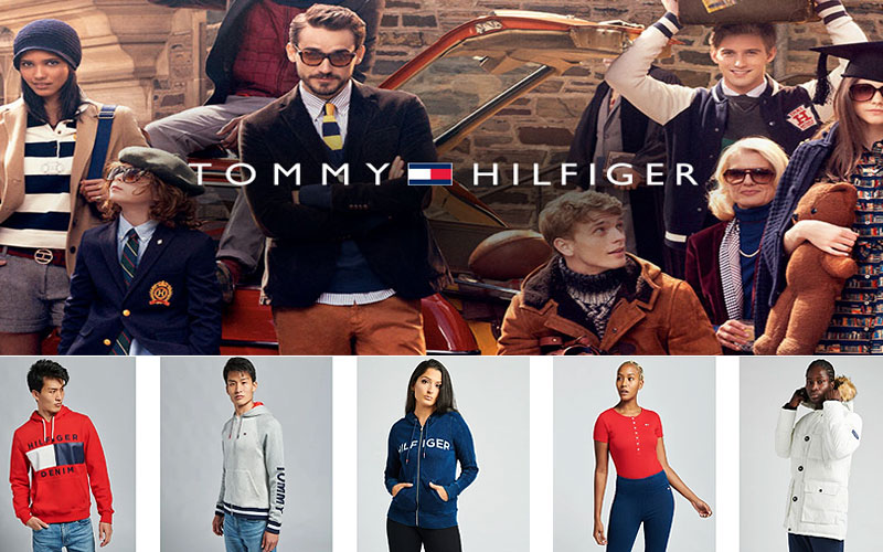 Shop Online Tommy Hilfiger Apparel on Sale Prices