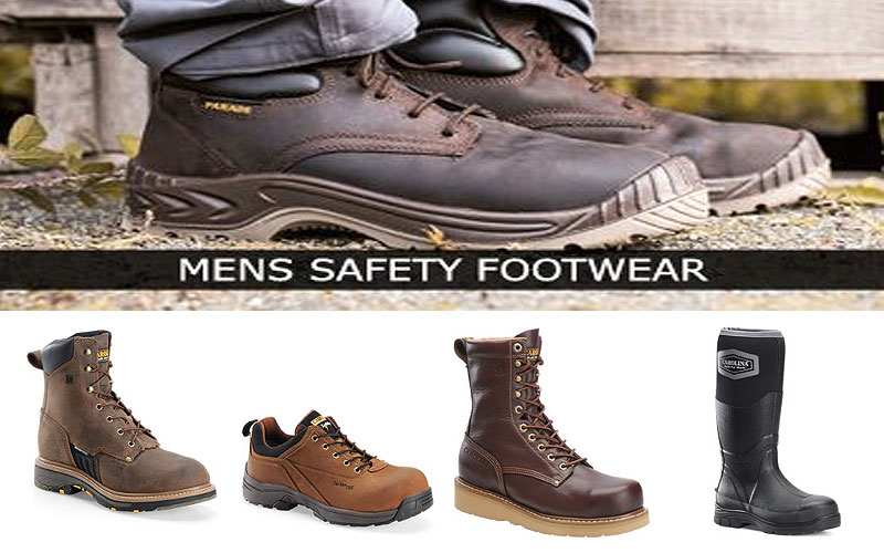 Up to 80% Off on Men's Safety Toe Work Boots