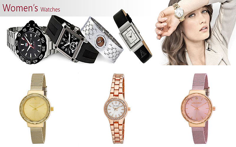 55% Off on Laura Ashley Watches for Women