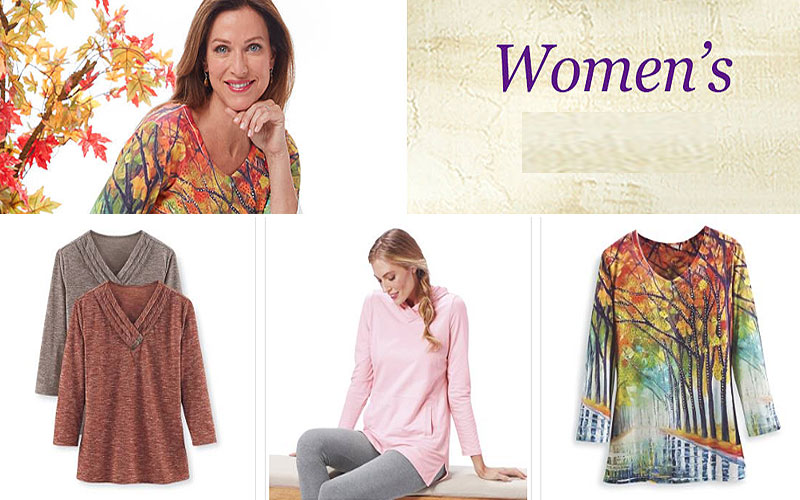 Women's Plus Size Knit Tops at Discount Prices