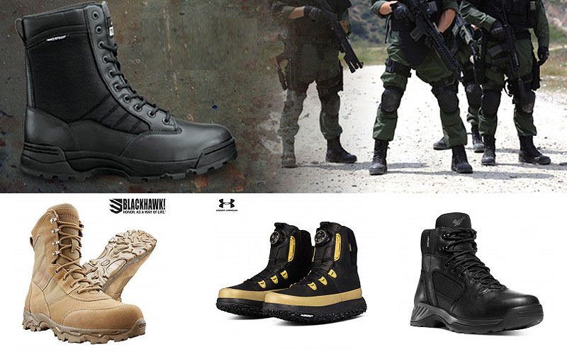 Up to 75% Off on Men's Tactical Boots