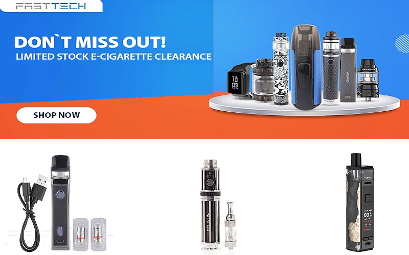 E-Cigarette Clearance Sale: Up to 35% Off