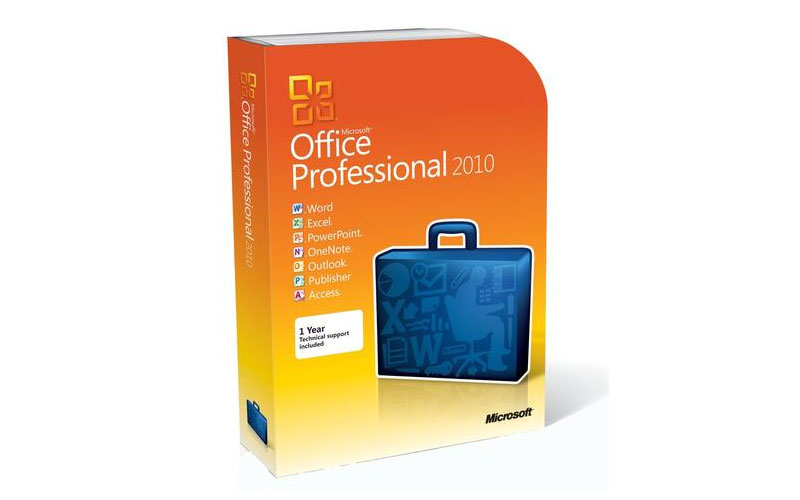 Microsoft Office 2010 Professional AE License