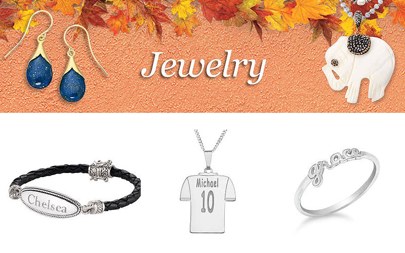 Personalized Women's Jewelry on Sale Prices