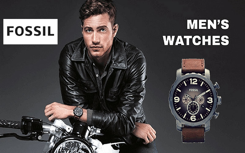 Fall Sale 2020: Up to 70% Off on Fossil Men's Watches