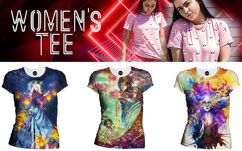 Shop Women's Rave T-Shirts Online at Discount Prices