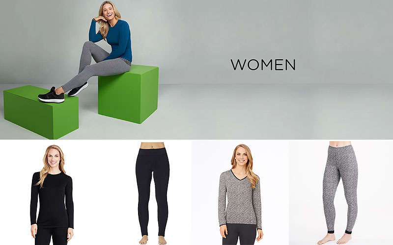 50% Off on Women's Cuddl Duds Clothing