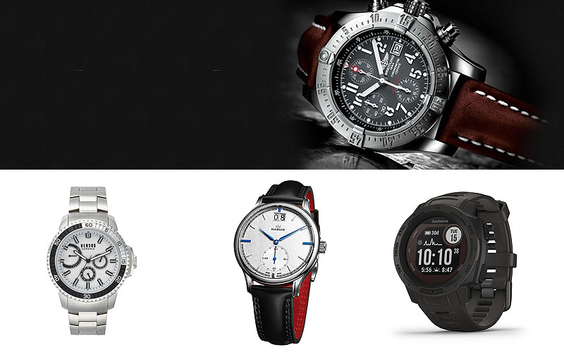 Up to 80% Off on Designer Watches Under $500