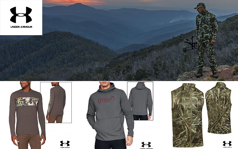 Up to 50% Off on Under Armour Hunting Clothing